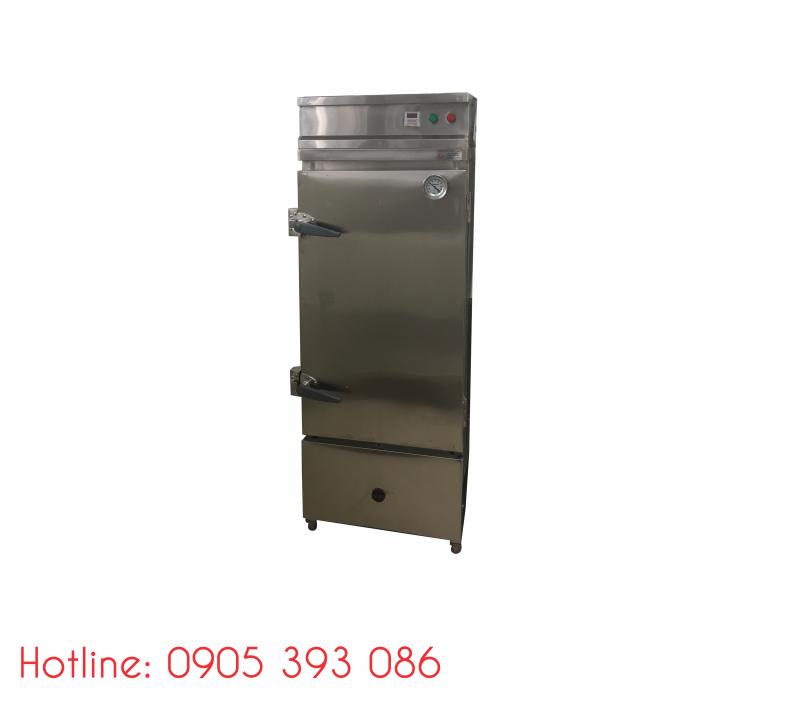 Tủ hấp cơm 50kg dùng điện & gas