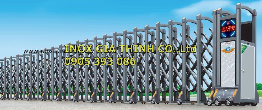 Cổng xếp tự động Hợp kim nhôm - Model: 1330-A