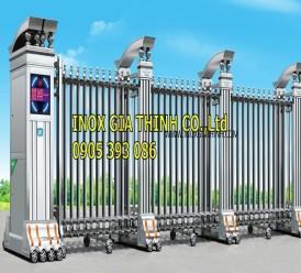 Cổng xếp tự động Inox 304 - Model: 308-B