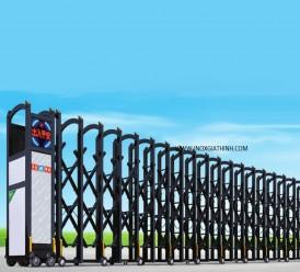 Cổng xếp tự động - Model: 128-H