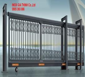 Cổng xếp tự động Hợp kim nhôm - Model: 1368-C