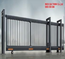 Cổng xếp tự động Hợp kim nhôm - Model: 1368-B