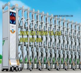 Cổng xếp tự động Inox 304 - Model: 1328-A