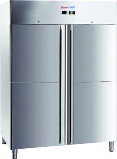 Tủ đông 4 cánh, tủ lạnh 4 cánh công nghiệp cho nhà hàng khách sạn